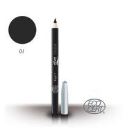prirodna organska olovka za oči pogodna za vegane - crna - alva kozmetika