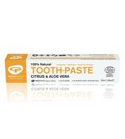 prirodna organska zubna pasta bez fluora kompatibilna s homeopatskim tretmanima