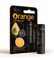 orange lip balm oleotherapy