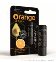 orange lip balm oleotherapy