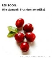 biljno ulje sjemenki brusnice ametičke co2, RED TOCOL CRANBERRY SEED OIL