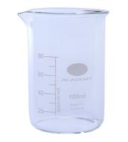 laboratorijska čaša staklena