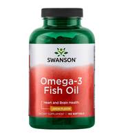 swanson Lemon Flavor Omega-3 Fish Oil