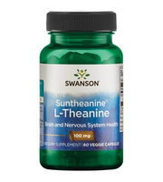 Suntheanine L-Theanine kapsule swanson