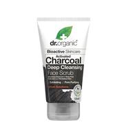 aktivni ugljen pročišćavajući piling za lice dr. organic