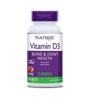 vitamin d3 2000IU natrol