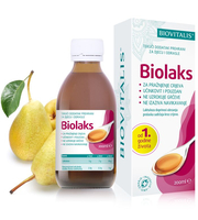 biolaks sirup za pražnjenje crijeva, pomoć kod zatvora