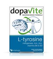 dopavite original vitalogic vitabiotics - L-tirozin, cink, željezo i nutrijeti za kognitivnu funkciju