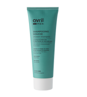prirodni organski gel za tuširanje i šampon za kosu za muškarce avril