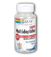 Solaray Super Multidophilus 24 probiotici
