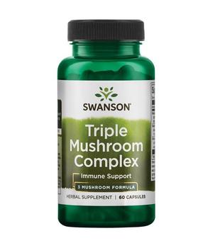 ljekovite gljive reishi, shiitake i maitake - swanson triple mushroom complex