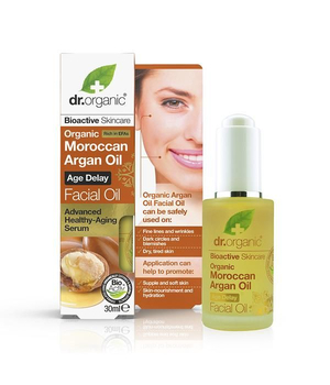 dr organic argan ulje za njegu lica