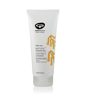 organski gel za tuširanje za osjetljivu kožu i čestu upotrebu