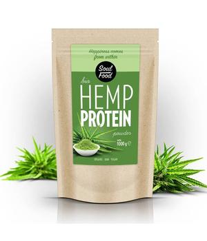 proteini konoplje u prahu - proteinski prah konoplje soulfood