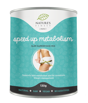 speed up metabolism - superfood mix nutrisslim