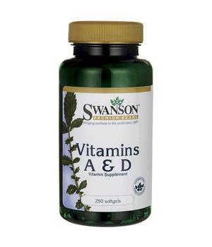 vitamin d3 i vitamin A kapsule - swanson