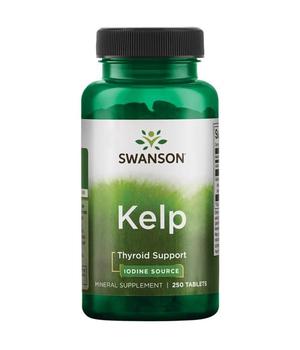 kelp alga tablete - bogat izvor joda