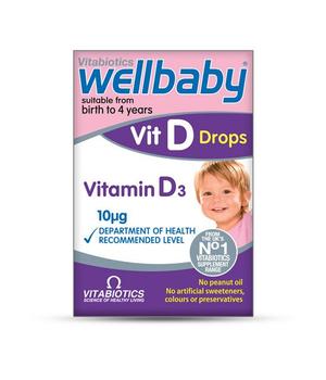 wellbaby vitamin d3 kapi za bebe i djecu vitabiotics