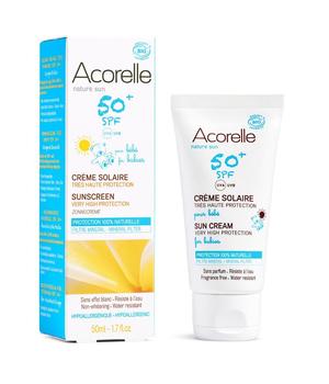 krema za sunčanje za bebe i djecu spf50 acorelle