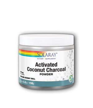 aktivni ugljen u prahu solaray Activated Coconut Charcoal Powder