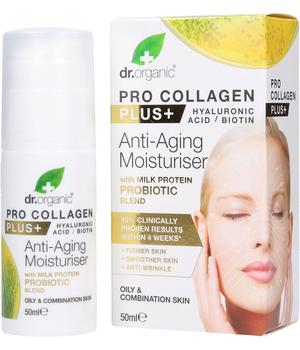 dr organic pro collagen plus krema za masnu i mješovitu kožu