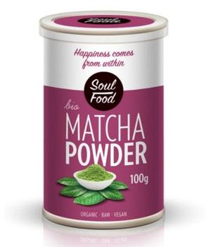 matcha prah - matcha čaj soul food
