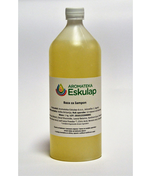 šamponska baza - baza za izradu šampona