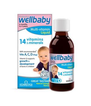 wellbaby multi vitamini & minerali za bebe i djecu