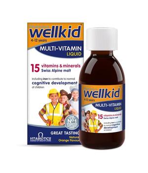 wellkid multi vitamini & minerali za djecu