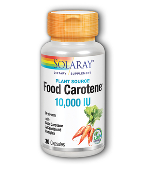 food caroten solaray