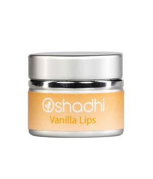 oshadhi lip balm vanilla lips