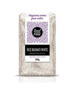 basmati riža bijela