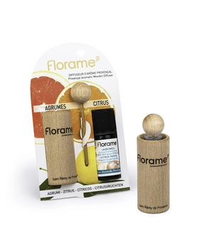 drveni difuzer provence + citrus fruits sinergija florame
