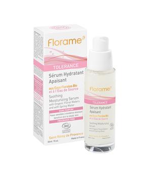 tolerance umirujući hidratantni serum za osjetljivu kožu florame