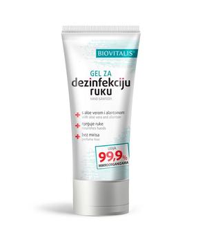 dezinficijens za ruke - gel za dezinfekciju ruku biovitalis