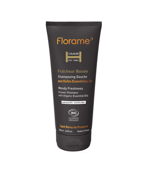 florame Woody Freshness Shower Shampoo