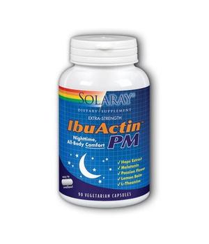 IbuActin PM Solaray kapsule protiv bolova i nesanice