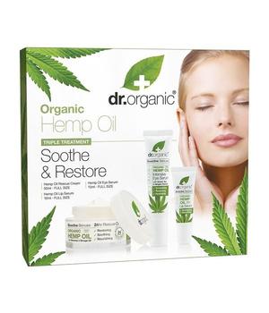 dr organic konoplja soothe & restore poklon paket