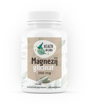 MAGNEZIJ GLICINAT- magnesium glycinate HEALTH WIZARD