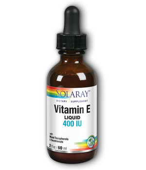 vitamin e liquid solaray - kapi vitamina e