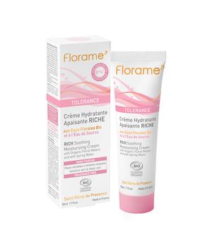 tolerance bogata krema za osjetljivu kožu florame