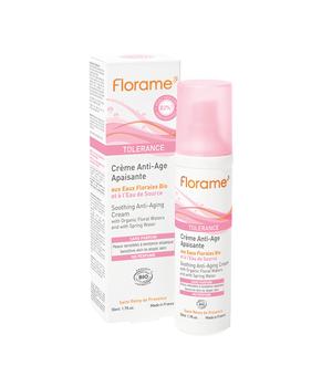 tolerance anti age krema za osjetljivu zrelu kožu florame