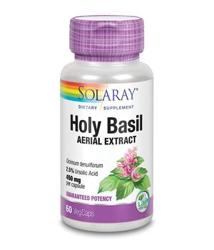 holy basil - tulsi kapsule solaray