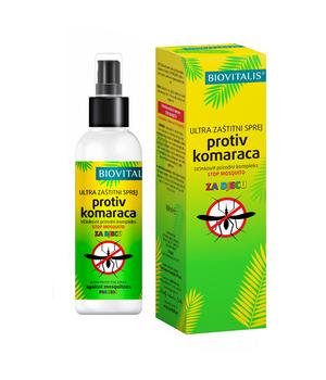 sprej protiv komaraca za djecu biovitalis