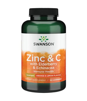 Cink, vitamin C, bazga i ehinacea - tablete za imunitet - Swanson