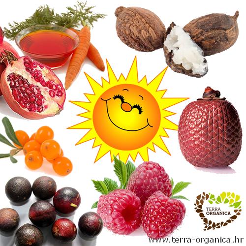ulja za sunčanje, biljna ulja za sunčanje, prirodna zaštita od sunca, ulja sa prirodnim spf, kako napraviti ulje za sunčanje